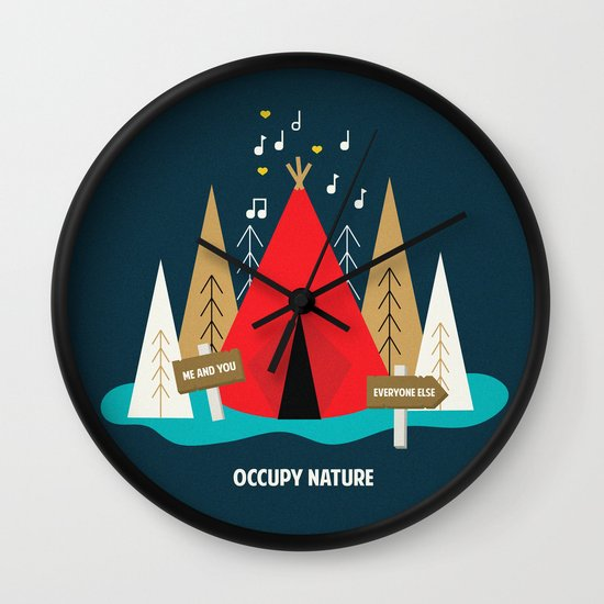 We are the 100%  Wall Clock