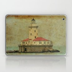Old and wise light Laptop & iPad Skin