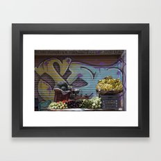 Graffiti Stand Framed Art Print