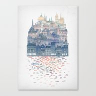 Canvas Print featuring Serenissima by David Fleck