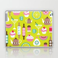 Lime cocktail party and candy kitchen food print Laptop & iPad Skin