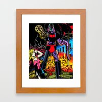 ULTRA-DESTROYER Framed Art Print