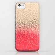 GOLD CORAL iPhone 5c Slim Case