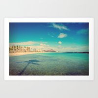 Magic Island Art Print