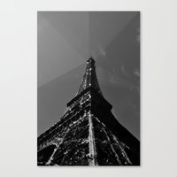 Colliding times Canvas Print