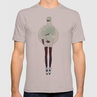 Deepest Ocean Mens Fitted Tee Cinder SMALL