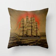 Set Sail - 001 Throw Pillow