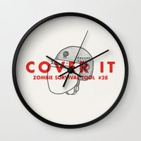 Cover It - Zombie Surviv… Wall Clock