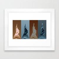 4Liberty Framed Art Print