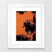 Shadow Framed Art Print
