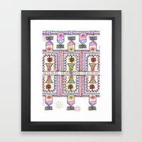 MarkIt Tribal Framed Art Print