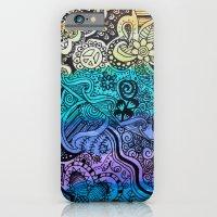 Watercolor Doodle iPhone 6 Slim Case