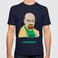 Walter H. White Mens Fitted Tee Navy SMALL