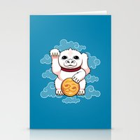 Lucky Dragon Stationery Cards