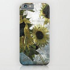 autumnal sunflowers iPhone 6 Slim Case