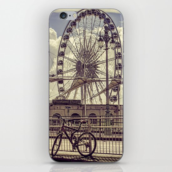 The Brighton Wheel iPhone & iPod Skin
