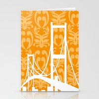 Stationery Card featuring Architecture - Golden Gate Bridge by ialbert