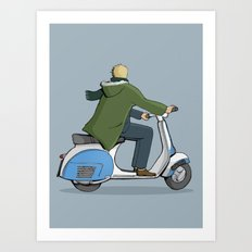 We are the mods Art Print