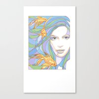 Mermaids Are Dreaming Canvas Print