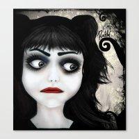 Dear little doll series... EUGENIA Canvas Print