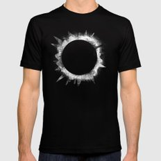 Eclipse 1 Mens Fitted Tee Black SMALL