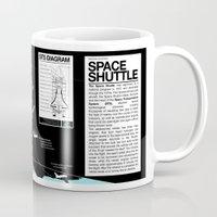 Space Shuttle Mission Diagram  Mug
