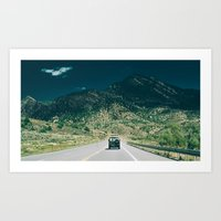 Synchro Bus Colorado Art Print