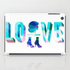Head Over Heels In Love iPad Case