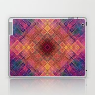Laptop & iPad Skin featuring King Art Purple by Jbjart