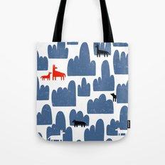 Animal World Tote Bag