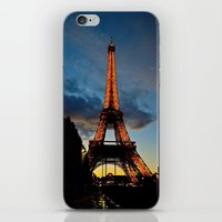 Lighting the Tower iPhone & iPod Skin