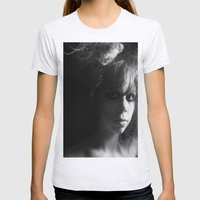 Danielle Womens Fitted Tee Ash Grey SMALL