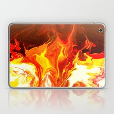 Fire - Modern Art  Laptop & iPad Skin