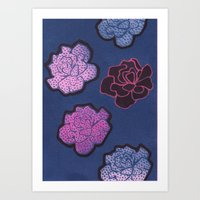 COLDROSES Art Print