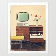 Index (Kultur im Heim, GDR) Art Print