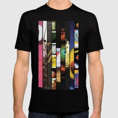 Pearl Jam Stripped Mens Fitted Tee Black SMALL