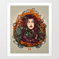 The Queen Of Shaba Art Print