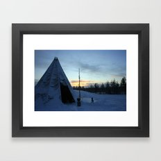 Life In The Arctic Framed Art Print