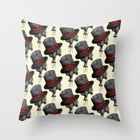 Circus ∫ Animal Surrea… Throw Pillow