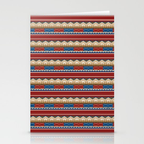 Navajo Pattern 2 Stationery Card
