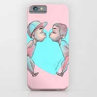 iPhone Cases featuring Ziam by harryflowerchild