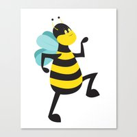 March to Your Own Bee't Canvas Print