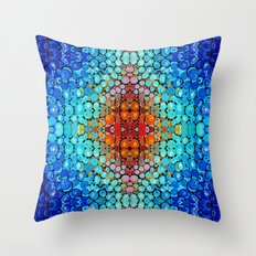 Inner Vision - Colorful … Throw Pillow