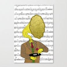 Phonograph Canvas Print