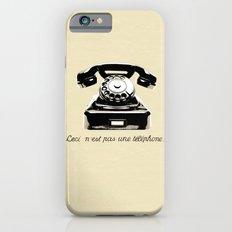 Ceci N'est Pas Une Téléphone. iPhone 6s Slim Case