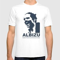 Albizu Campos - El Maestro Mens Fitted Tee White SMALL