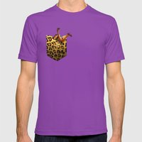 FASHION VICTIM Mens Fitted Tee Ultraviolet SMALL
