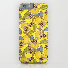 Yellow Lemon And Bee Gar… iPhone 6 Slim Case