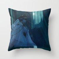 Dark Souls - Dark Sun Gw… Throw Pillow
