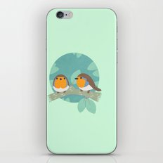 European Robins iPhone & iPod Skin